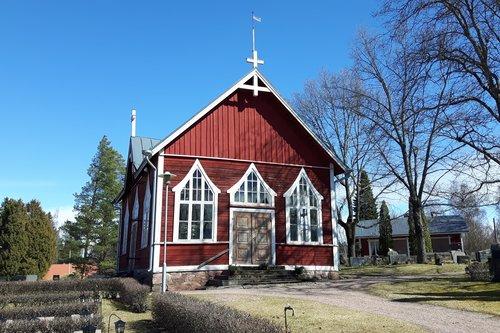 Luvian hautausmaan kappeli